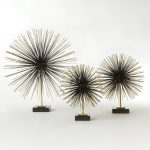 Global Views | Boom Tabletop Sculpture in Brass